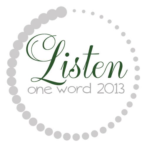 OneWord2013_Listen