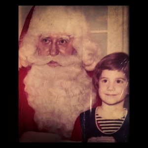 My first visit with Santa ~